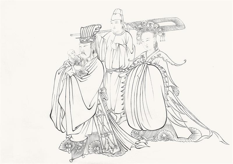 【展览】向传统致敬 | 经典线描临摹研究展